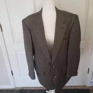 Vintage Burberrys plaid sport coat or blazer